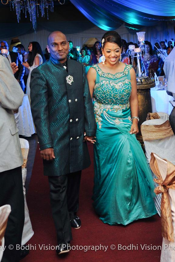 Jesse Trishs Tamil Wedding Reception Umgeni Road Toti Hall